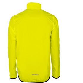 axant Elite Windjacke Herren transparent/gelb